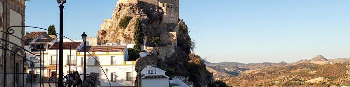 Andalucía. Pueblos Blancos. Castillo de Olvera