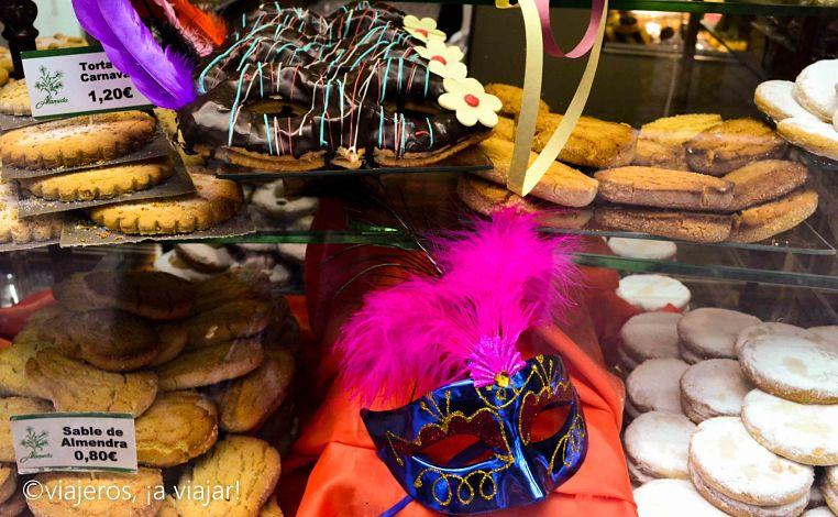 carnaval. Dulces tipicos