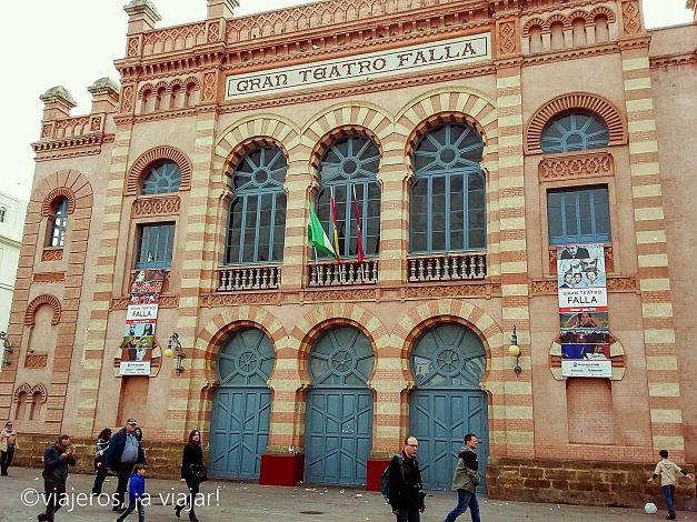 carnaval. Teatro Falla