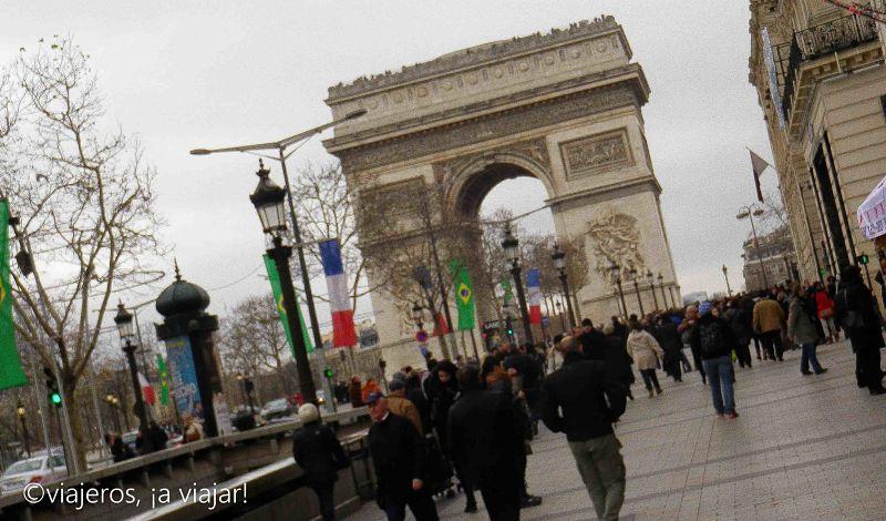 París. Arco triunfo