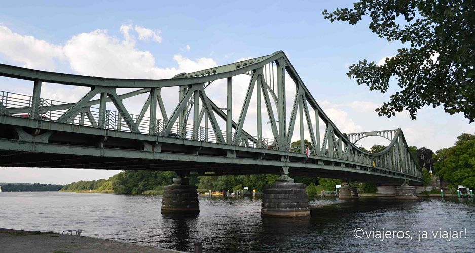 Potsdam. Puente Glienicke Berlín