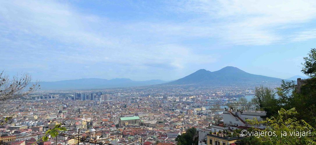 vesubio. Nápoles