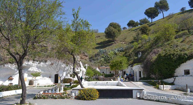 Cuevas del Sacromonte en Granada