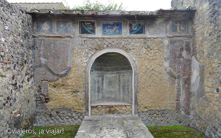 Herculano, Pompeya y Vesubio