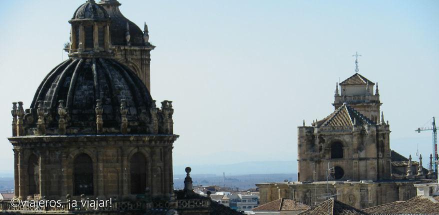 Vista de los tejados de Granada