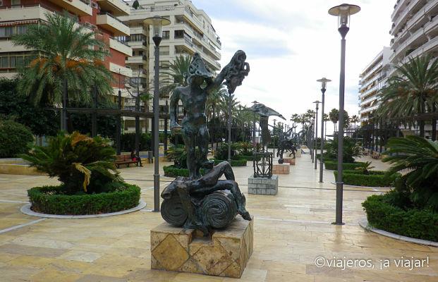Estatuas de Dali, Marbella
