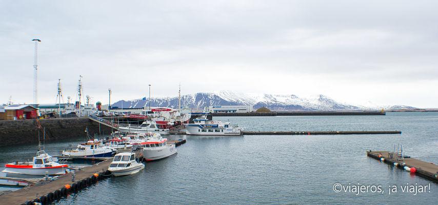 Puerto viejo de Reikiavik