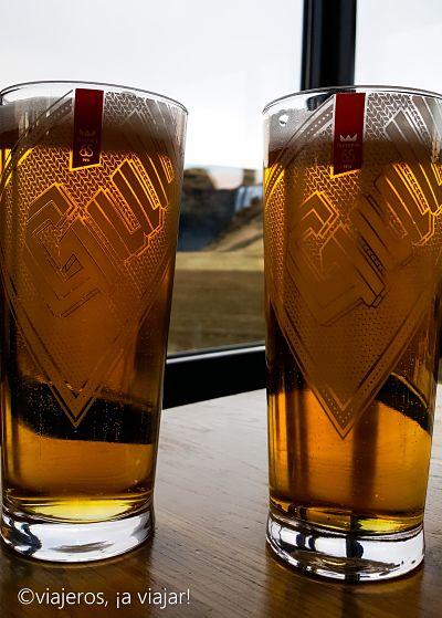 Probar cerveza gull