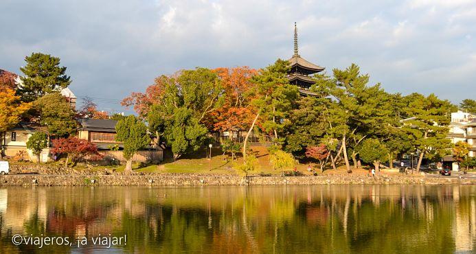 Pagoda en Nara