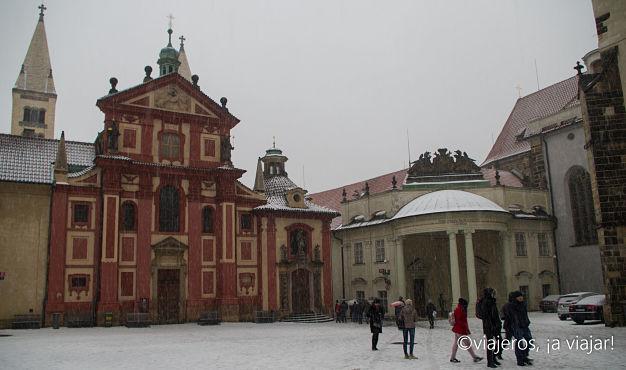 VIAJE Praga - Budapest. Iglesia San Jorge