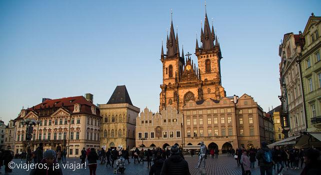 VIAJE Praga - Budapest. Týn