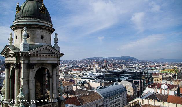 BUDAPEST. Vistas desde la Basílica de San Esteban