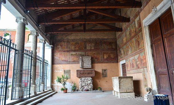 IGLESIAS ROMA. Lorenzo Extramuros