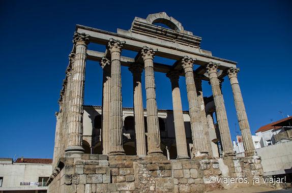 Mérida. Templo de Diana
