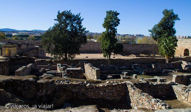 Mérida. Vista de la Alcazaba