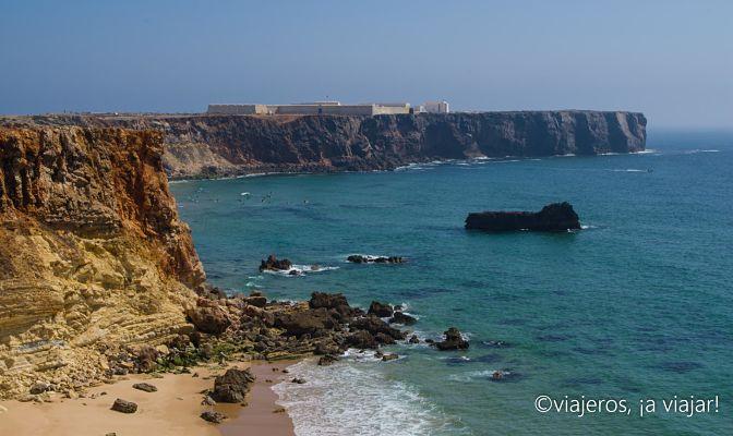 Fortaleza Sagres en Algarve