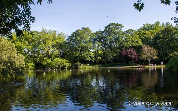 DUBLIN. St. Stephen's Green