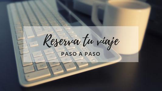 reserva paso a paso