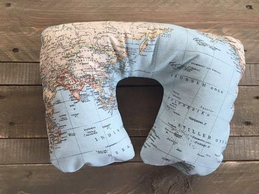 regalos viajeros. almohadilla inflable