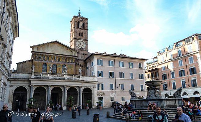 Iglesia de Santa maría de Trastevere