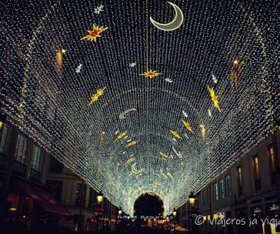 Luces navidad Málaga
