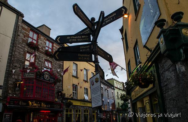 Direcciones en Galway