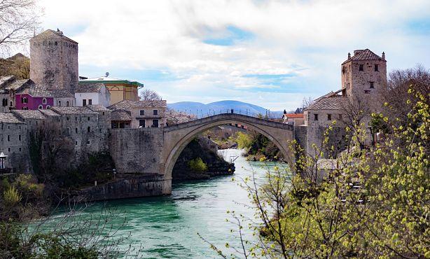Mostar en Bosnia. destino 2020