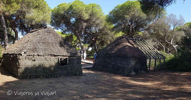 poblado en Doñana