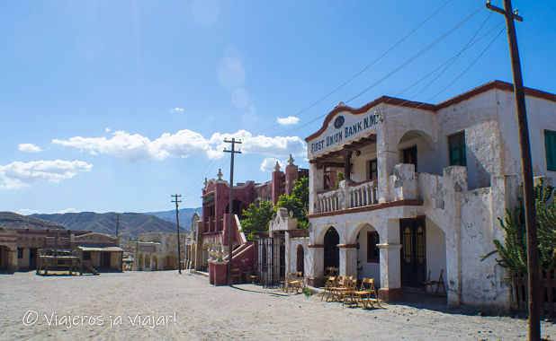 Escenario de cine en Almeria