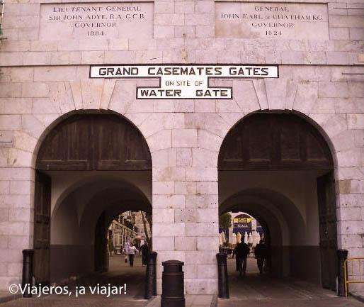 Gibraltar. casemates